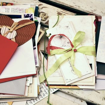 stack of love letters